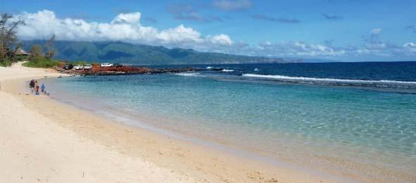 Baby Beach, Maui's Favorite Family Friendly White Sand Beach