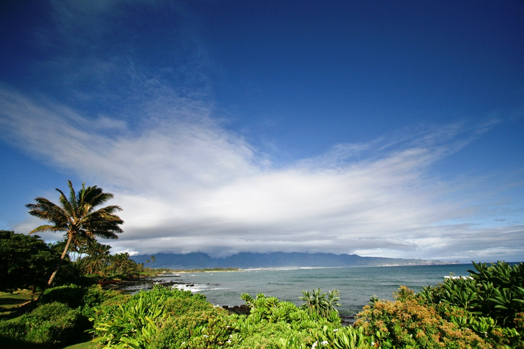 Oceanview of Maui's northshore coastline