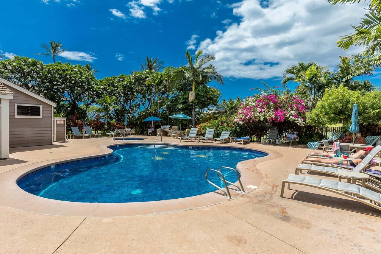 Grand Champions Unit 84 Maui Hawaii Condo Rental Wailea Southshore