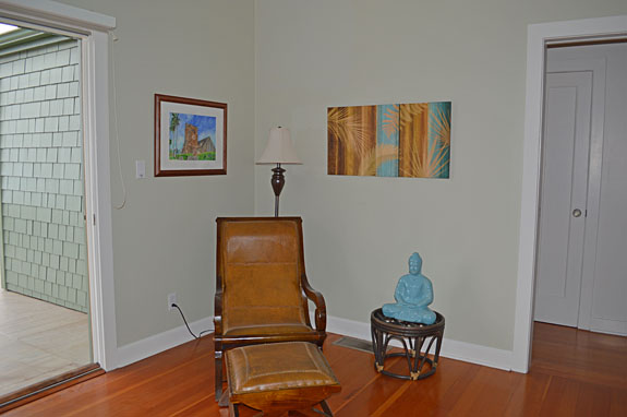 Living room, reading corner