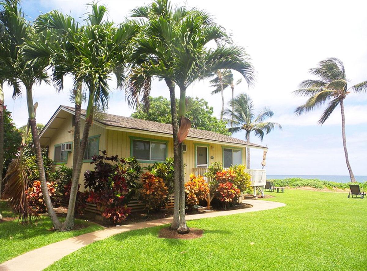 Nellie S Surf Bungalows Palm Cottage Maui Vacation Advisors