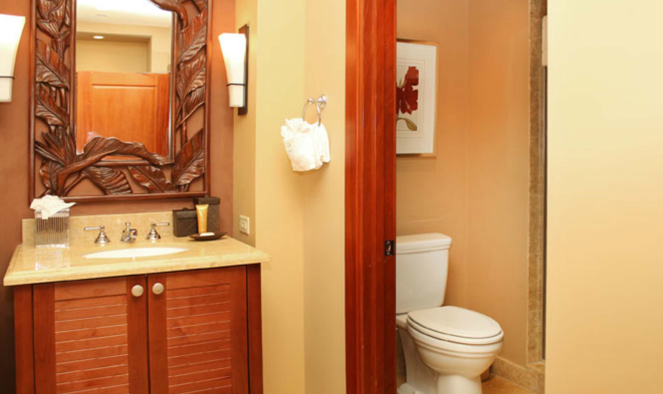 Third bedroom bathroom