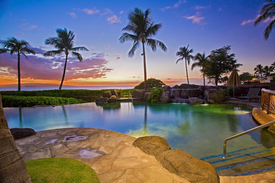 S Only Pool Wailea Beach Villas