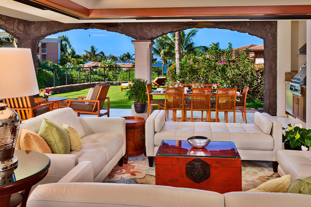 Living area, oceanview