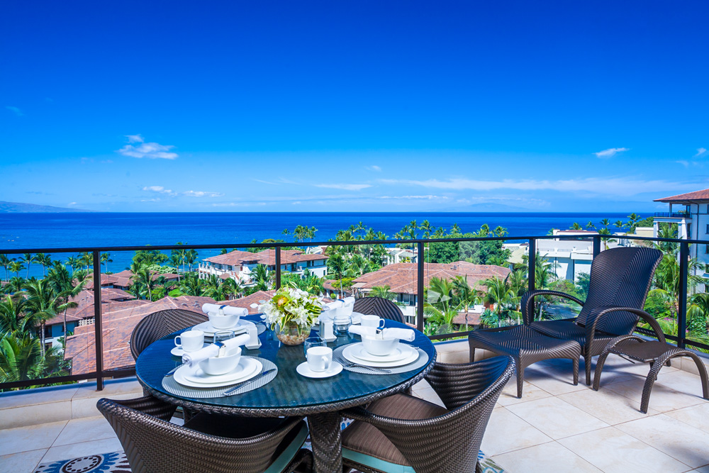 Wailea Beach Villas J-505 panoramic oceanview