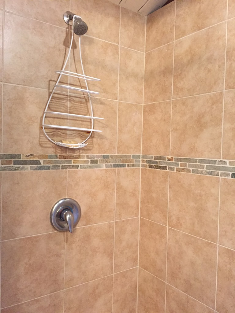 Second bathroom, shower stall